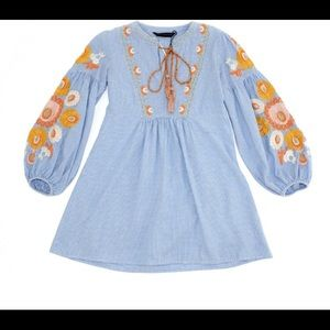 Zara embroidered tunic